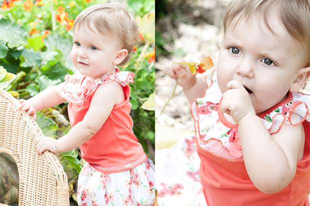 Little girl outdoor session