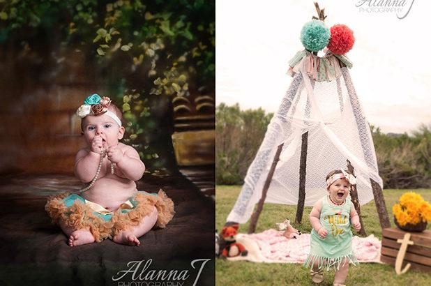 Baby Girl Portraits Mesa Arizona