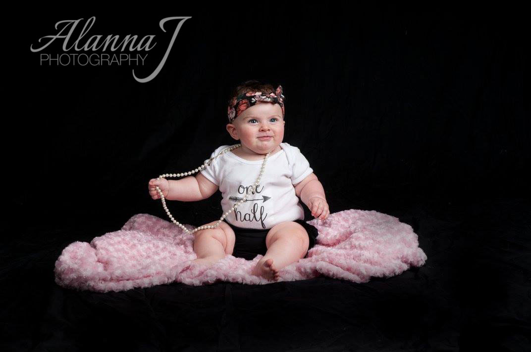 Indoor Portrait Session of a 1 year Old Girl