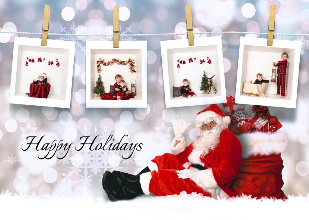 5x7 Digital Inside the Box Holiday Card