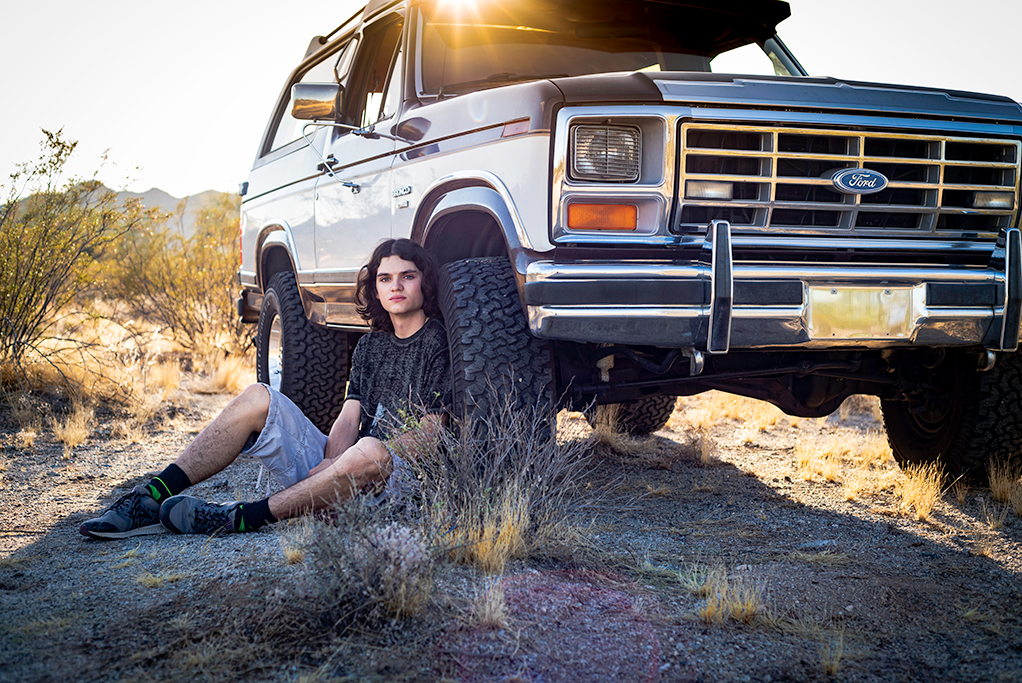 Boy & His Bronco Senior Pictures