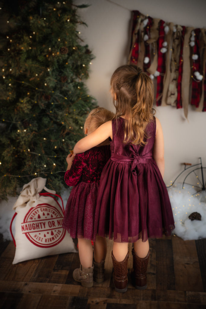 Child Holiday Portraits in Queen Creek Arizona