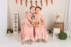 Petite Mini Session for Easter Portraits