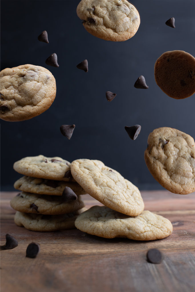Chocolate chip cookies that make you want to drool!  Photo by Alanna Jurden Photography