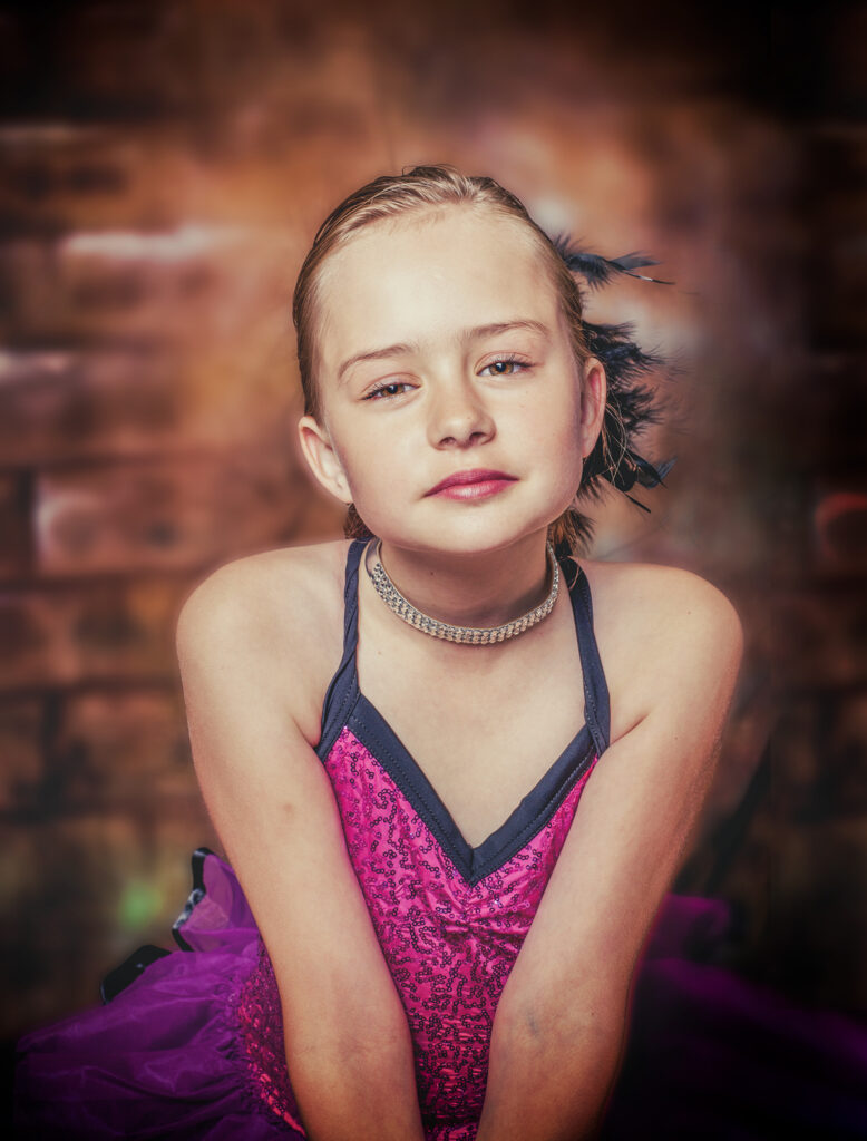 Fine Art Portrait of a Young Dancer